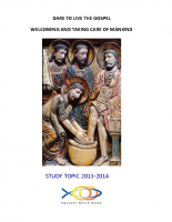 2013-2014 Dare to live the Gospel