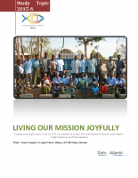 2015-2016 Living Our Mission Joyfully Study Topic